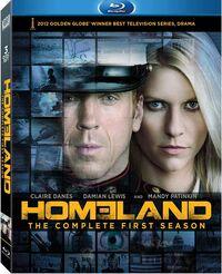 Homeland Season 1 Blu-ray