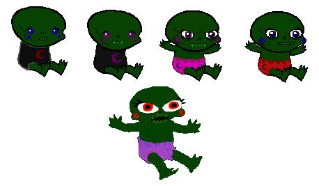 Cherub babies