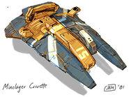 RC minelayer