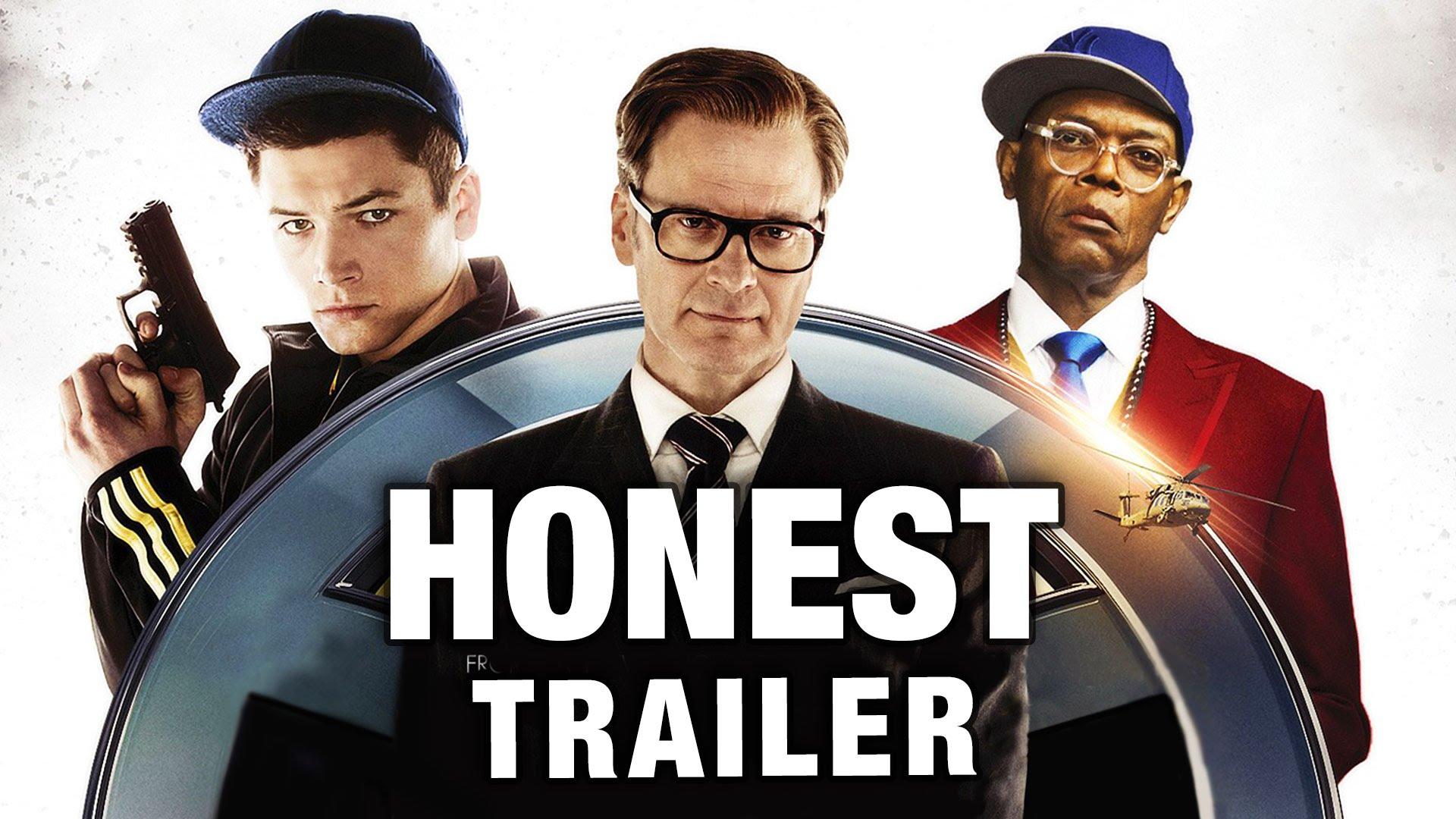 Kingsman The Secret Service Q A With: Honest Trailer - Kingsman: The Secret Service