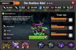 The Headless Rider EL4 Lvl100