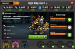 High King Gard EL2 Lvl100