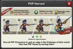 Challenge of Valor heroes