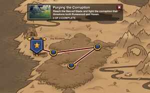 Purging the Corruption - map