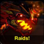Raid news icon