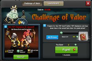 Challenge of Valor 2 window