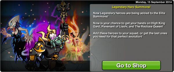 Legendary Hero Summons