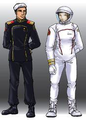 RMN Officer's Uniform