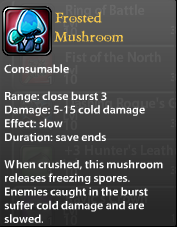 Frosted Mushroom