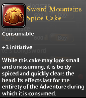 Sword Mountain Spice Cake