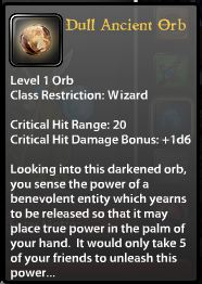 DULL Ancient Orb