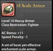 3 Scale Armor