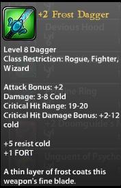 2 Frost Dagger