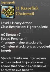 1 Razorlink Chainmail