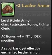 2 Leather Armor