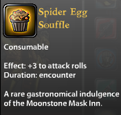 Spider Egg Souffle