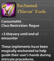 Enchanted Thieves' Tools