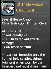 2 Lightforged Chainmail