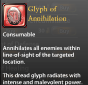 Glyph of Annihilation