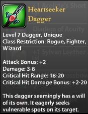 Heartseeker Dagger