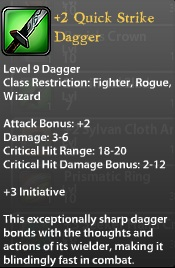 2 Quick Strike Dagger