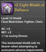 2 Light Shield of Defiance