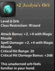 2 Acolyte's Orb