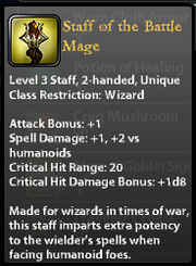 Staff of the battle mage