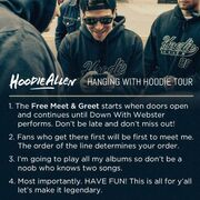 Rules of Hanging With Hoodie