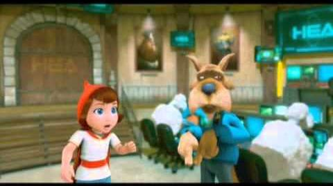 Cartoon Network ad Hoodwinked mov