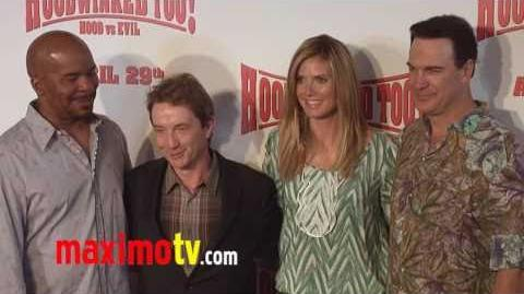 """""""Hoodwinked Too! Hood VS Evil"""" Premiere Arrivals Heidi Klum"""