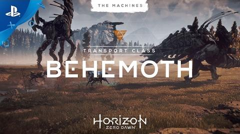 Horizon Zero Dawn - The Machines Behemoth