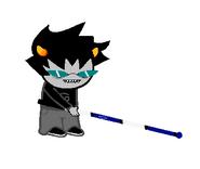 Blind kat