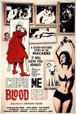 Color Me Blood Red, film poster