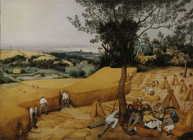 File:Pieter Bruegel the Elder- The Harvesters - Google Art Project.jpg