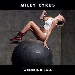 250px-Miley Cyrus - Wrecking Ball