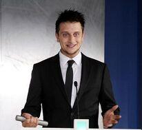 Marcel Glauche - German promotional film price in 2011 in Frankfurt