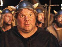 Jörg Moukaddam as Faxe in 'Wickie und die starken Männer'