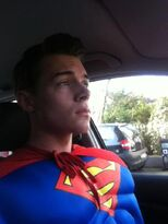 Gerrit as Superman