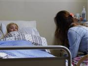 Jenny på sykehus