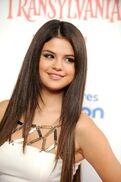 Selena at the Hotel Transylvania premiere