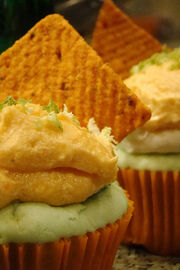 Momma Mambo! Lime Salsa Cupcakes
