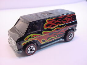75 Super Van Blk RL metal w-sidemarker smoked Flyin Color