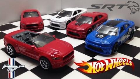 2017 Mustang Convertible and Blue Charger SRT Hotwheels Unboxing and Review!