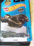 Batmobile with Yellow