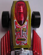 Rigor motor tiki blaster close up