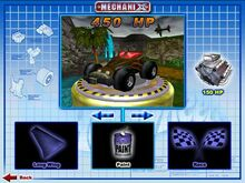 Sweet 16 II was Playable in Hot Wheels Mechanix PC 2002 Hot Wheels