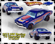2012 HW Racing 70 Chevelle SS 172-247