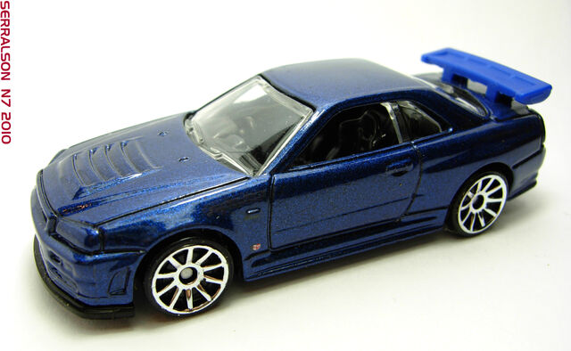 File:NISSAN SKYLINE GT-R34 BLUE.jpg