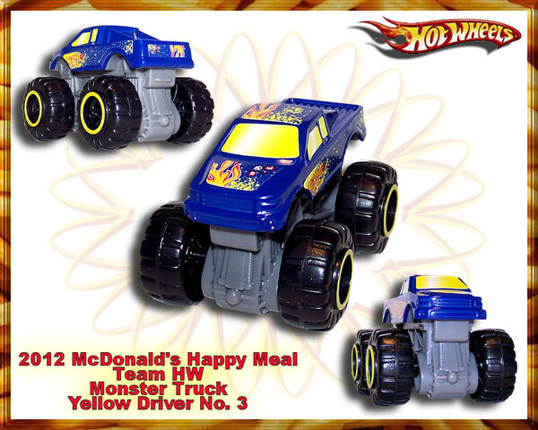 File:2012 McDonalds Happy Meal Team HW Monster Truck yellow Driver no. 3.jpg